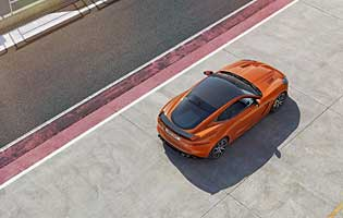 picture of car from above