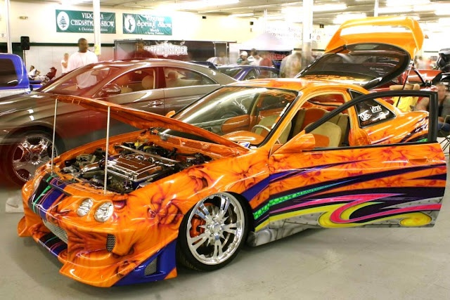 Best Flame Car Paint Jobs Aa Cars