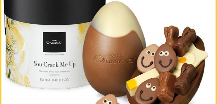 Win a Hotel Chocolat luxury Easter egg – #BankHolidayDrive