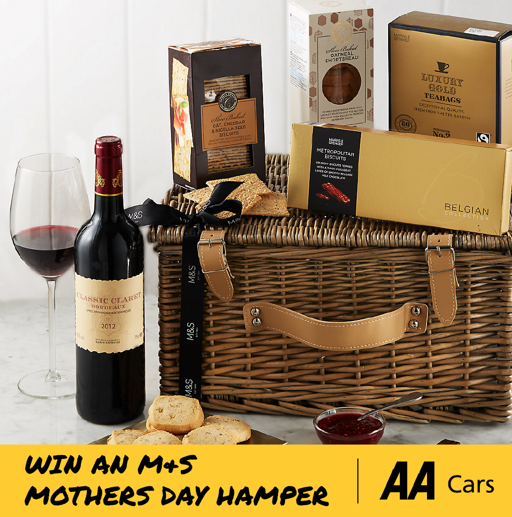 Win an amazing M&S hamper with our Mothers' Day photo competition.