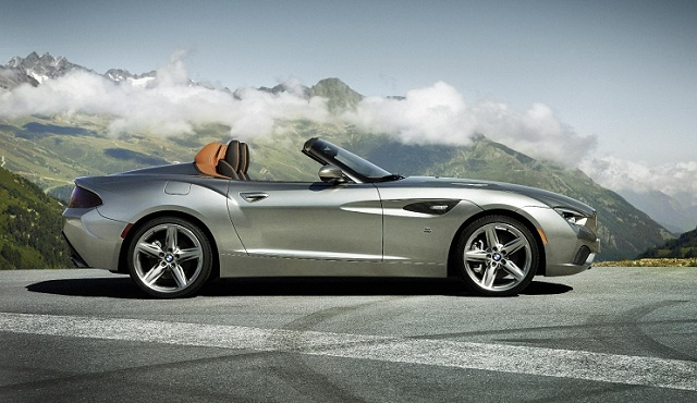 Bmw Zagato Roadster Concept First Look Aa Cars