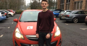 Behind the wheel with a learner driver