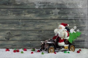 If Santa owned a car
