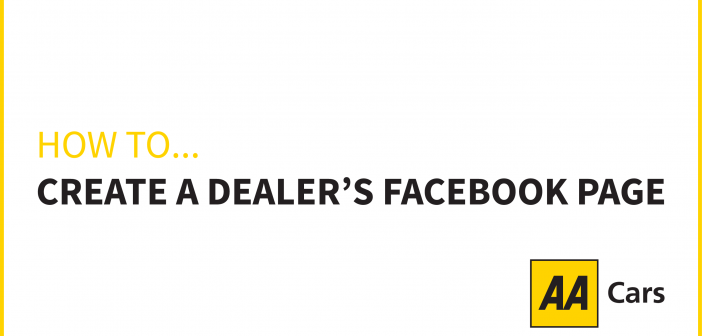 How to create a dealer's Facebook page