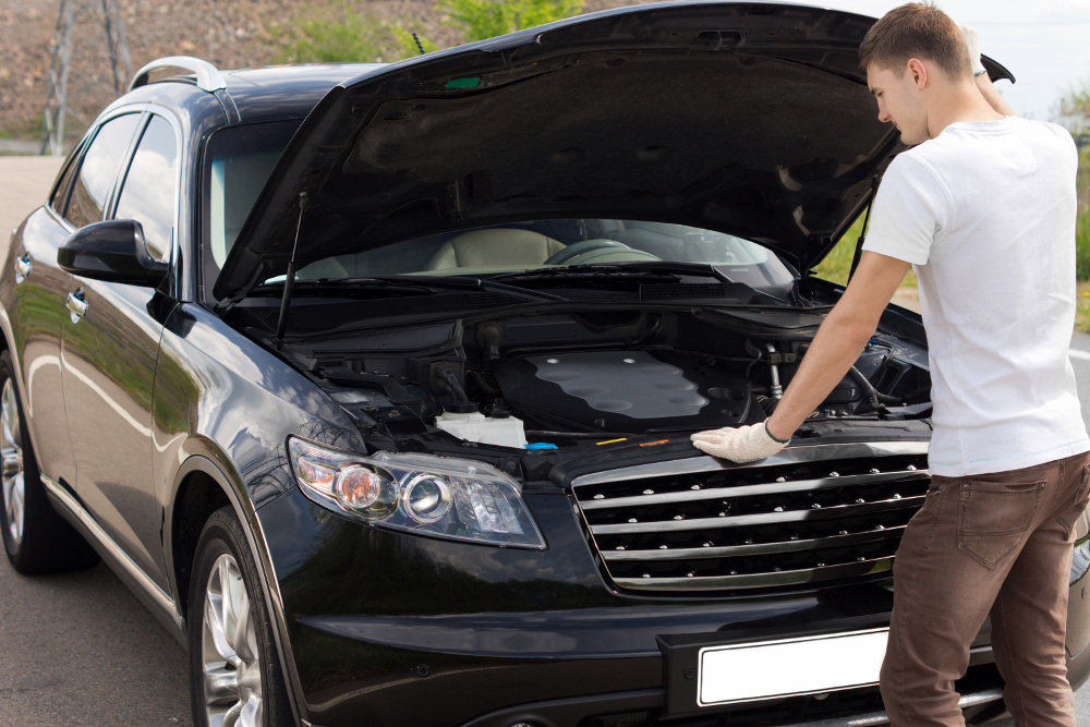 Used car how to check engine used