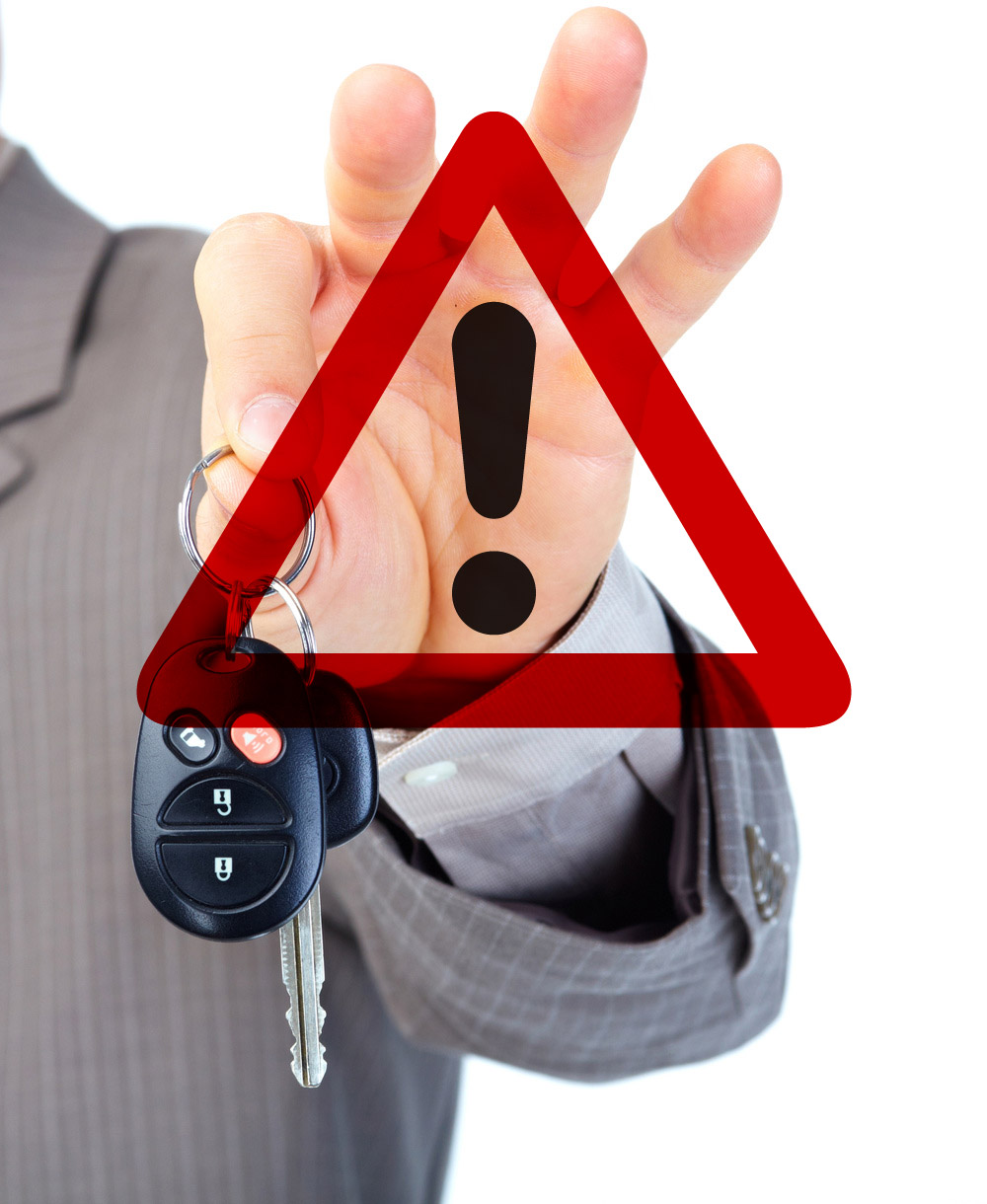how to avoid scams when selling a car