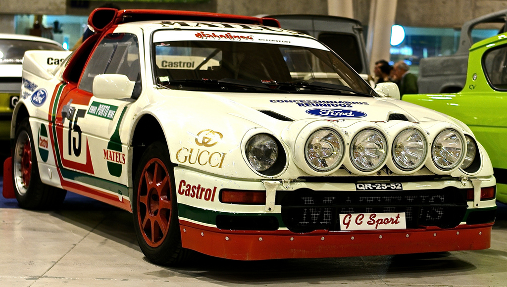 Ford RS200 Group B Rally Car