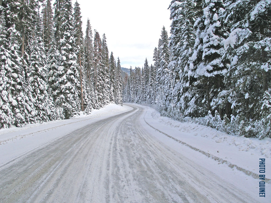 Winter driving tips - pick up STICKS