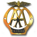 An early version of the Members' badge