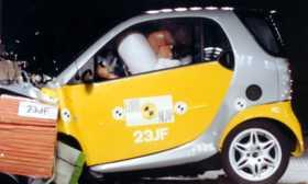 car crash smart car crash test rating. Black Bedroom Furniture Sets. Home Design Ideas