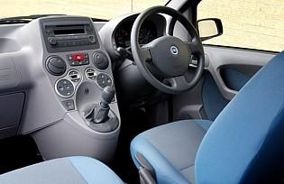 picture of fiat panda cabin