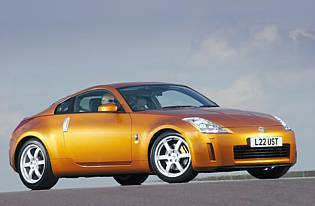 pricture of nissan 350z front