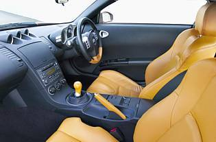 picture of nissan 350z interior