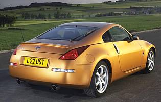picture of nissan 350z rear