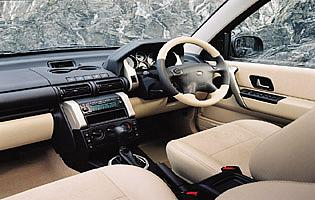 picture of land rover freelander interior
