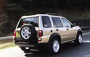 picture of land rover freelander from the rear