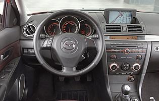 picture of mazda 3 fascia