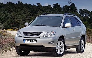 picture of lexus rx300 from the front
