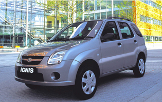 picture of suzuki ignis from the front