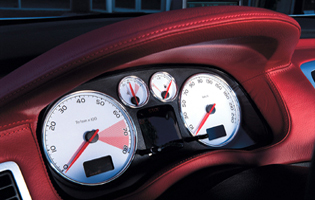 picture of peugeot 307 cc instrument dials