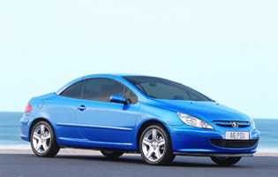 picture of peugeot 307 cc with roof closed
