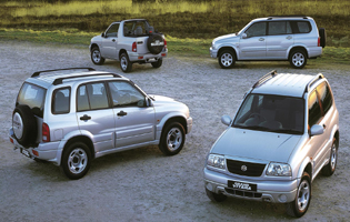 picture of suzuki grand vitara xl-7 in action