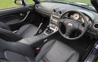 picture of mazda mx-5 interior