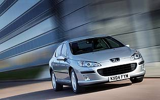 picture of peugeot 407 from the front