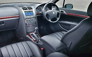 picture of peugeot 407 interior