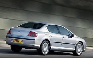 picture of peugeot 407 from the rear