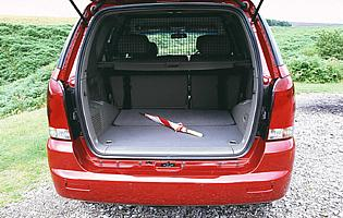 picture of ssangyong Rexton boot