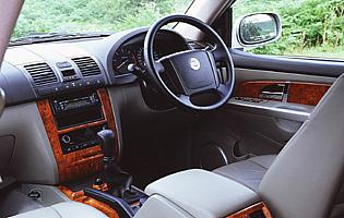 picture of ssangyong Rexton interior
