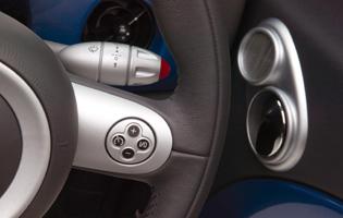 picture of mini convertible interior