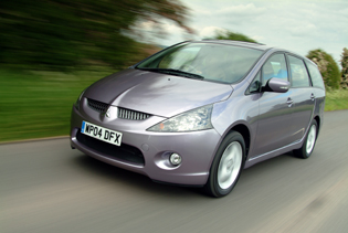 picture of mitsubishi grandis from the front