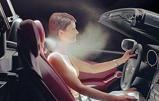 picture of mercedes slk airscarf option