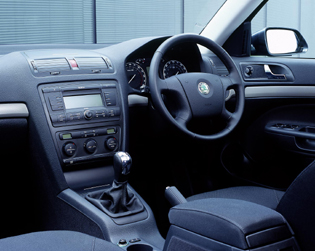 picture of skoda octavia interior