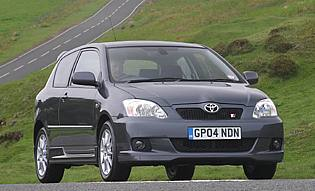picture of toyota corolla from the front