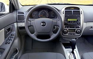 picture of kia cerato interior