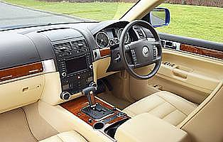 picture of VW Touareg interior