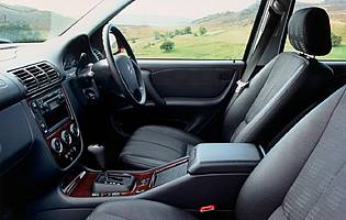 picture of M-Class interior