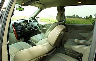 picture of chrysler grand voyager interior
