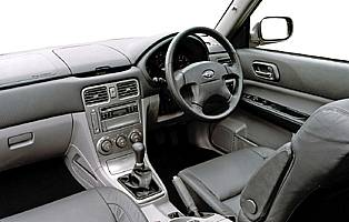 pic of Forester interior