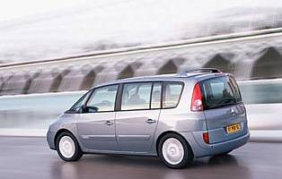 picture of renault espace from the rear