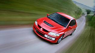 picture of mitsubishi lancer from the front