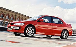 picture of mitsubishi lancer side