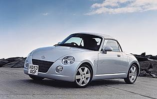 picture of daihatsu copen front three quarter