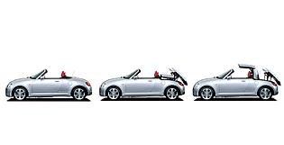 picture of daihatsu copen roof action
