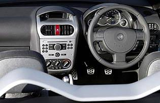 picture of vauxhall tigra interior