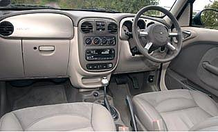 picture of chrysler pt cruiser interior