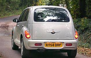 picture of chrysler pt cruiser from the rear
